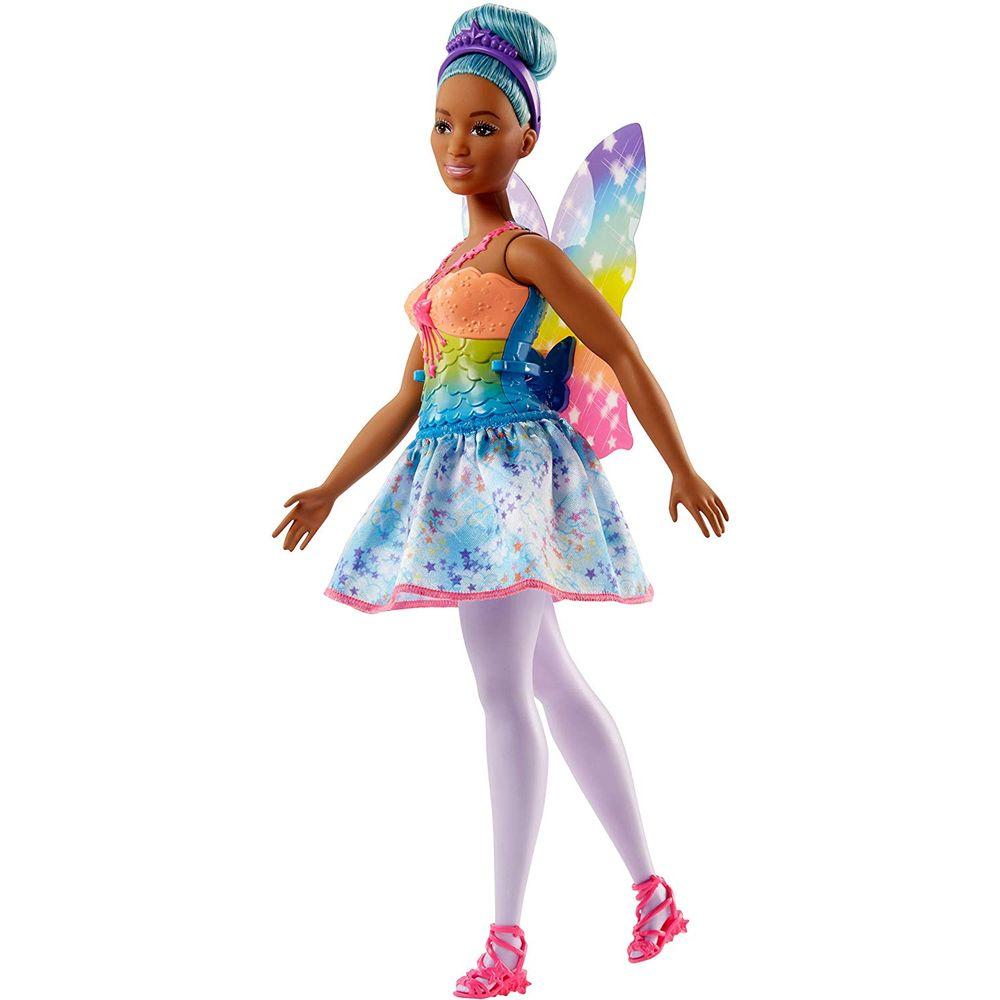 Barbie Dreamtopia - Boneca Fada Cabelo Azul Fjc87
