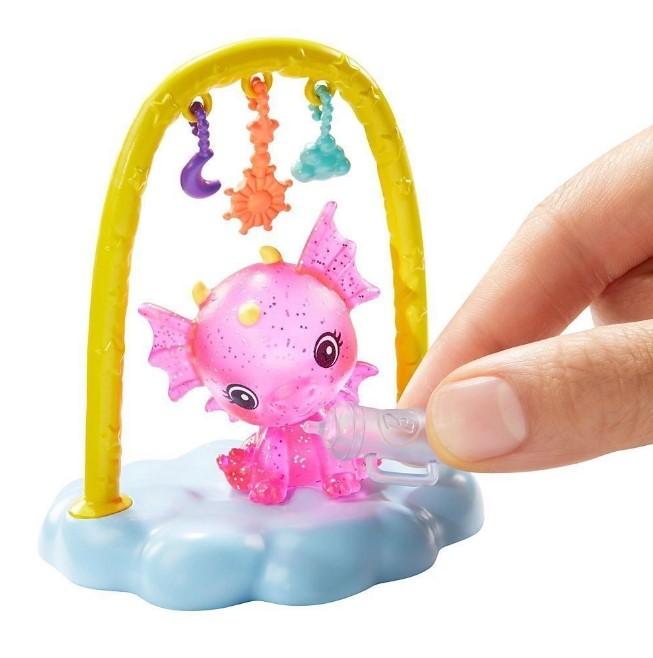 Barbie Dreamtopia Dia de Pets Babá de Dragões Bebês - Mattel