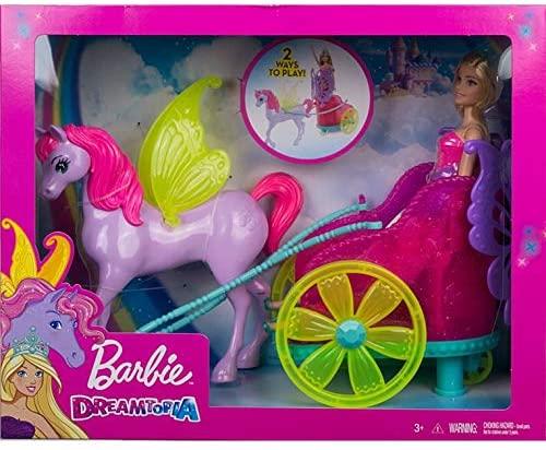 Barbie Dreamtopia - Princesa Com Carruagem - Mattel