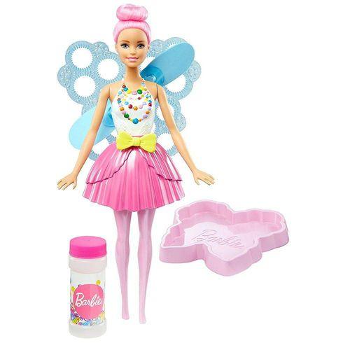 Barbie Fada Bolhas Mágicas - Mattell- Dvm95