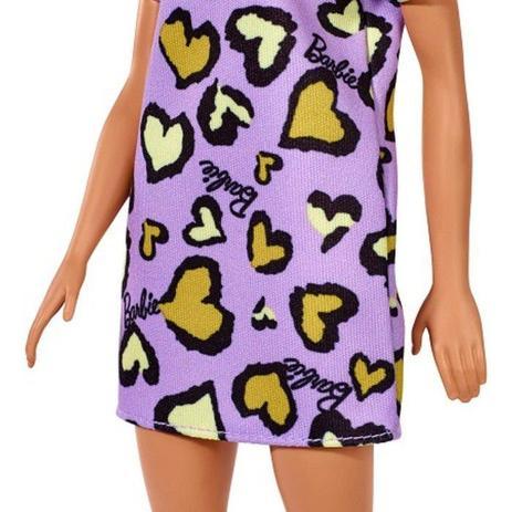 Barbie Fashion - Loira Vestido Roxo - Mattel