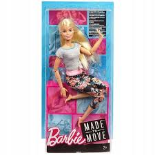 Barbie - Feita Para Mexer - Loira - Mattel