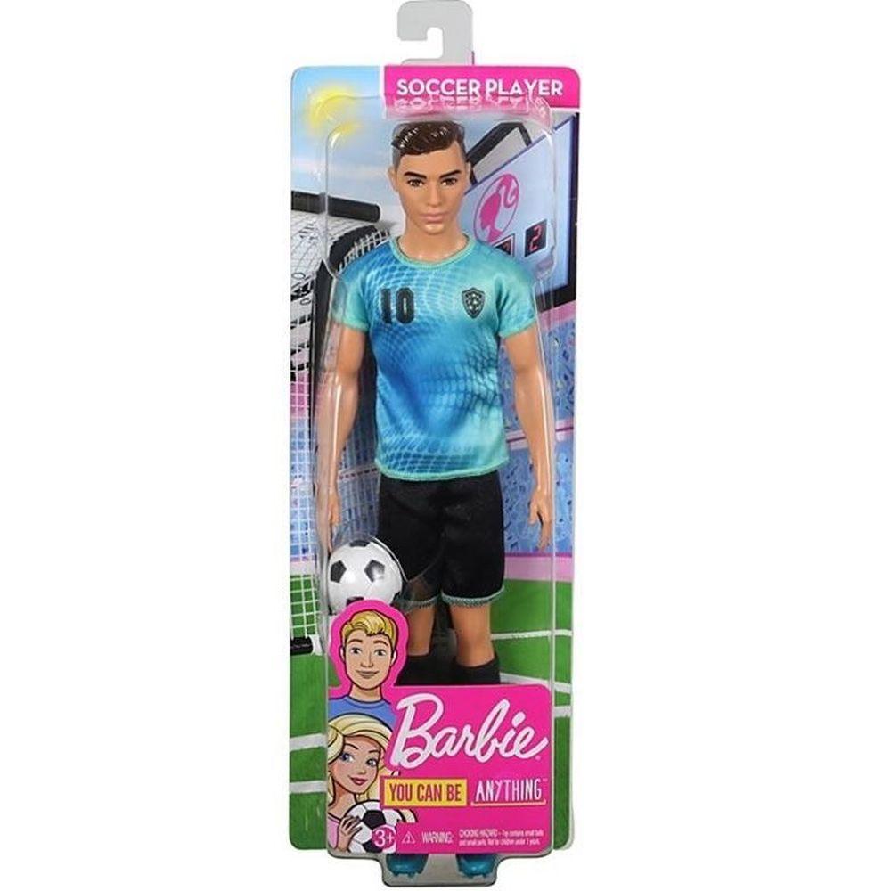 Barbie ken Profissões Jogador de Futebol fxp02 Mattel
