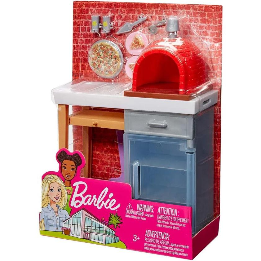 Barbie Móveis Básicos Forno de Pizza mattel