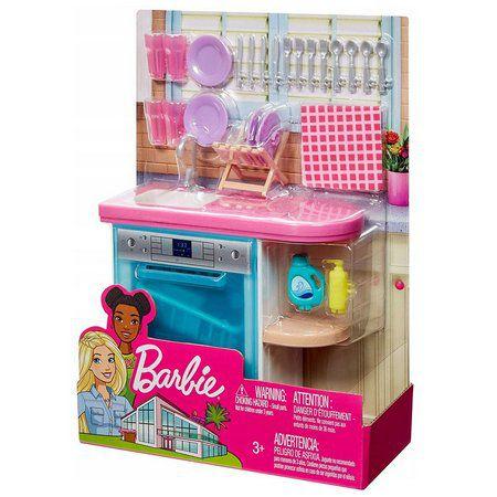 Barbie Móveis Básicos Lava Louças  mattel