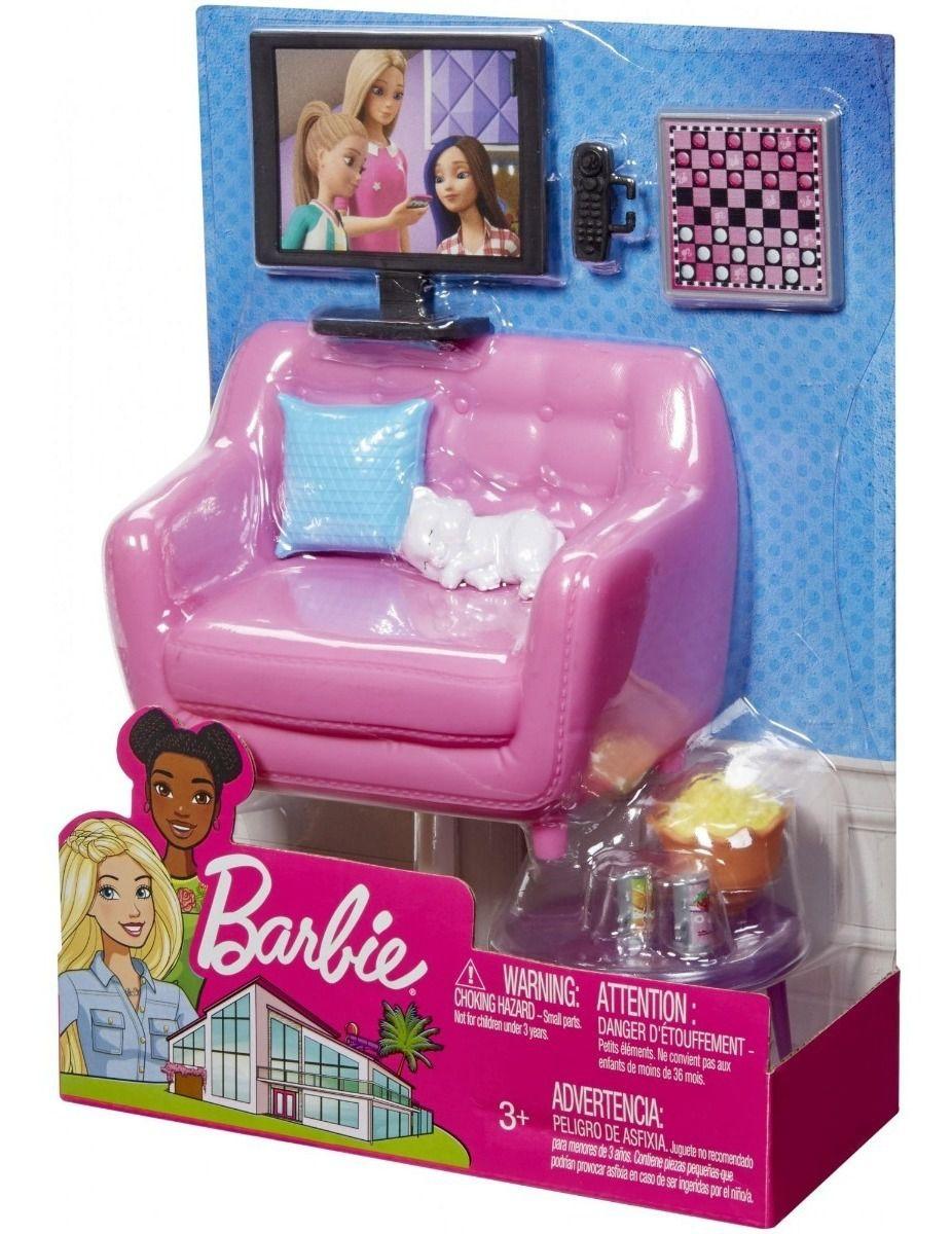 Barbie Moveis Basicos Sala De Estar  mettel