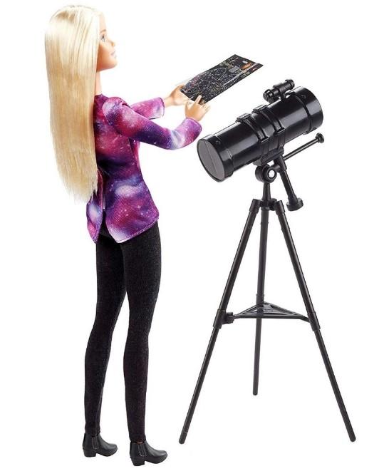 Barbie National Geographic Boneca Astrofisica Mattel Gdm44