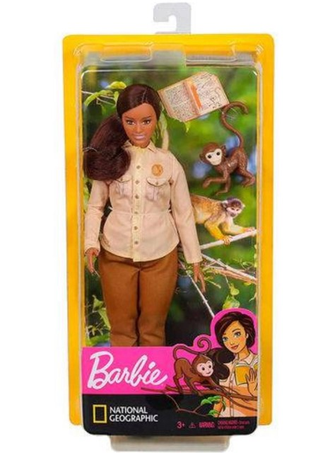Barbie National Geographic Conservacionista Da Vida Selvagem  Gdm48 Mattel