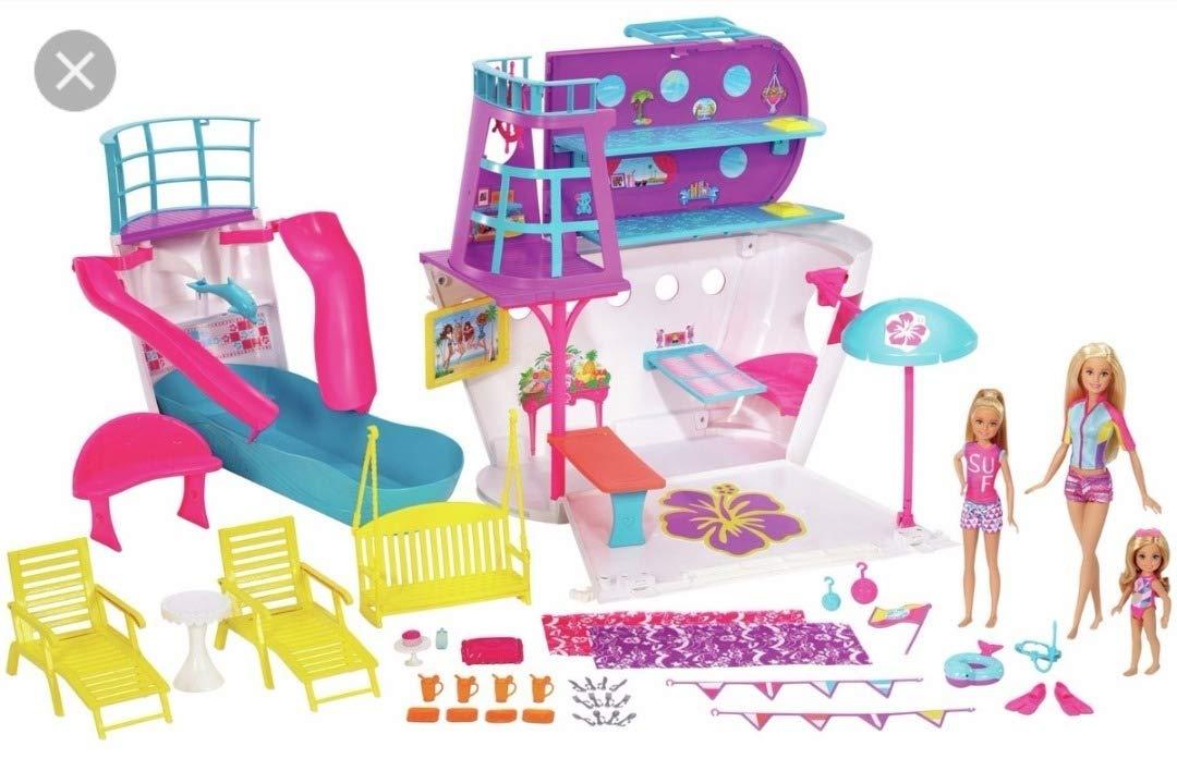 Barbie Navio Cruzeiro Mattel FHW46