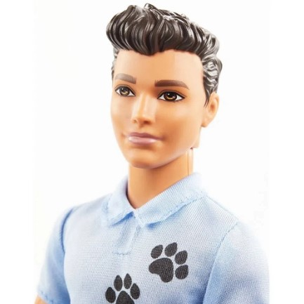 Barbie Playset Ken Treinador de Cães Mattel