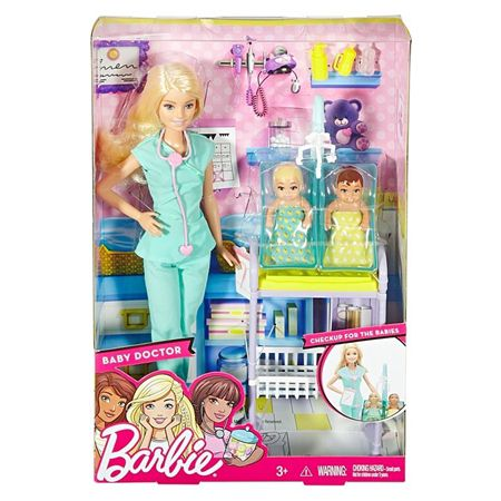barbie profissões pediatra