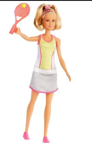 Barbie profissões tenista