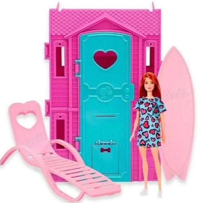 Barbie Studio de Surf Ruiva Mattel