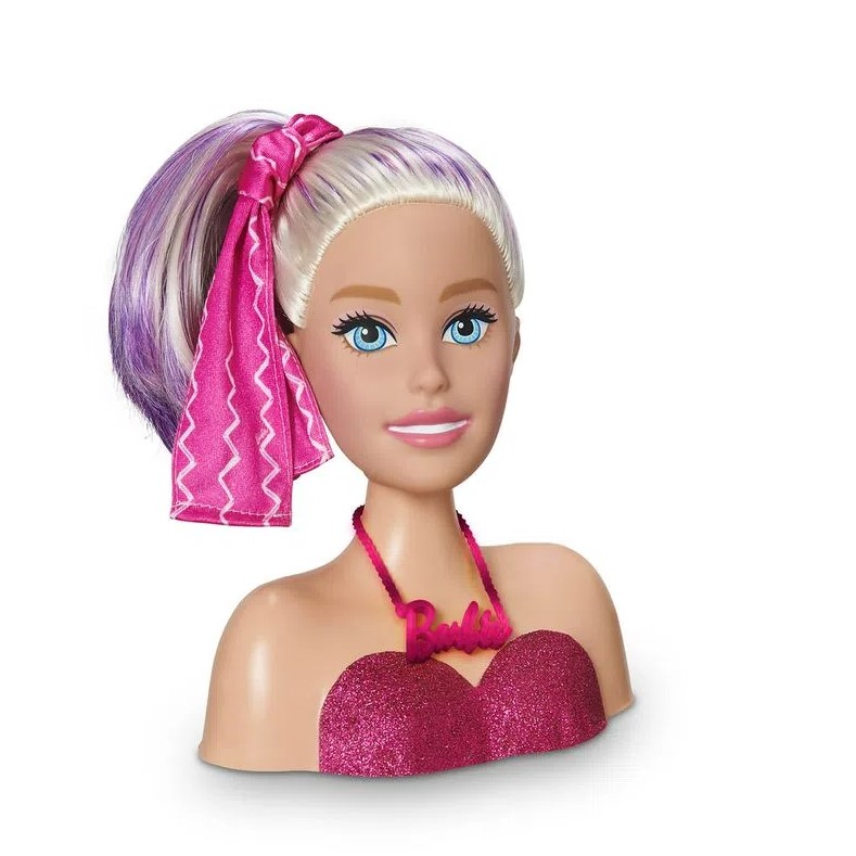 Barbie Busto Styling Head Faces