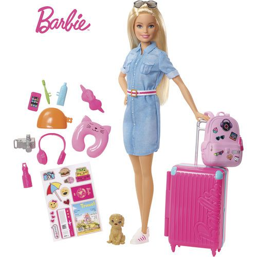 Barbie Viajante com Pet Mattel