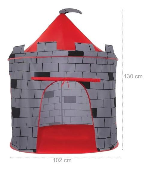 Barraca Infantil Dobrável Tenda Castelo Torre DM Toys DMT5391