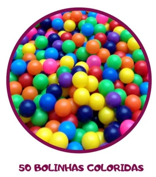 Barraca Infantil Pônei com 50 bolinhas Samba Toys