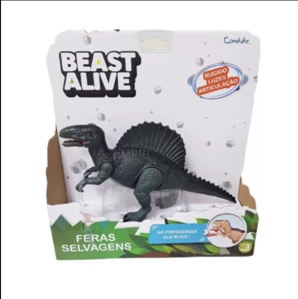 Beast alive feras selvagens som e luz espinossauro Candide