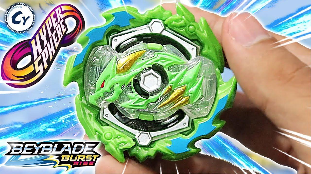 Beyblade Burst Rise Hypersphere Ace Dragon Hasbro