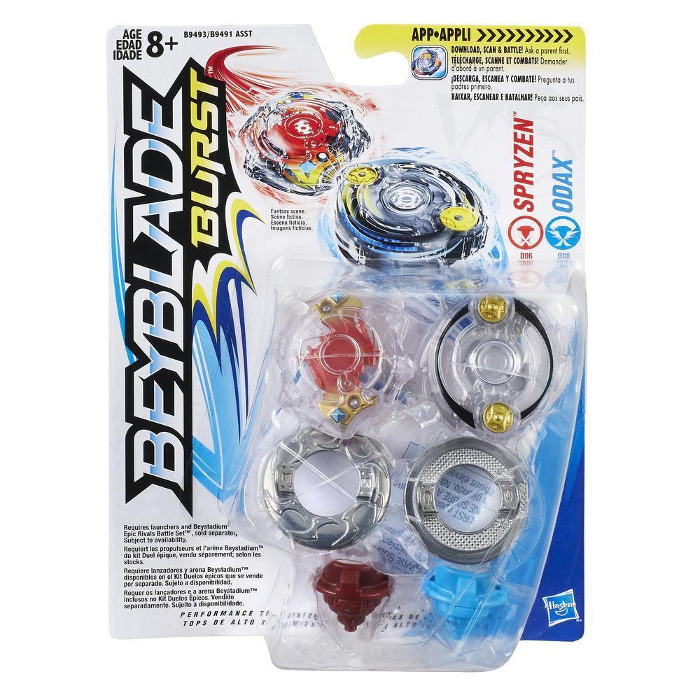 Beyblade Burst- Spryzen X Odax- Hasbro- B9491