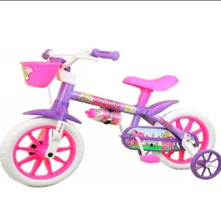 Bicicleta Aro 12 Violet 03 Nathor