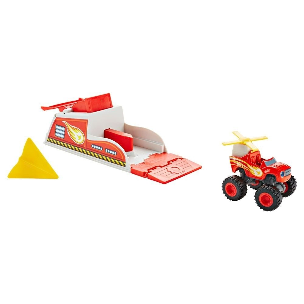 Blaze Turbo Lançador and The Monster Machine Fisher Price (256223)