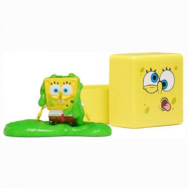 Bob Esponja - Figura com Slime - Mattel