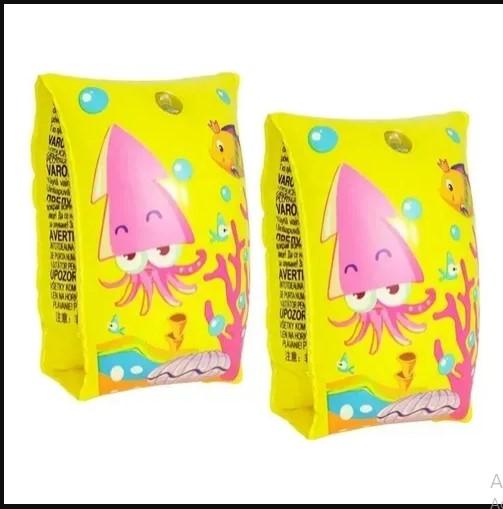 Boia Inflável Braço Amarela Peixinhos Infantil Criança Piscina Praia - Dms5433 Dm Brasil