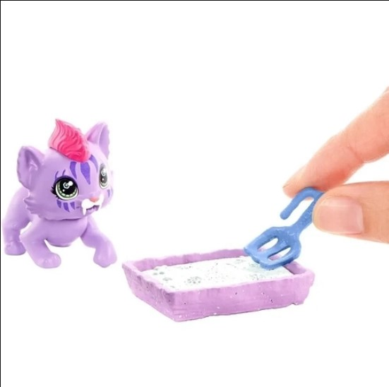 Boneca Articulada Cave Club  Jogo Roaralai Cat Cond Mattel