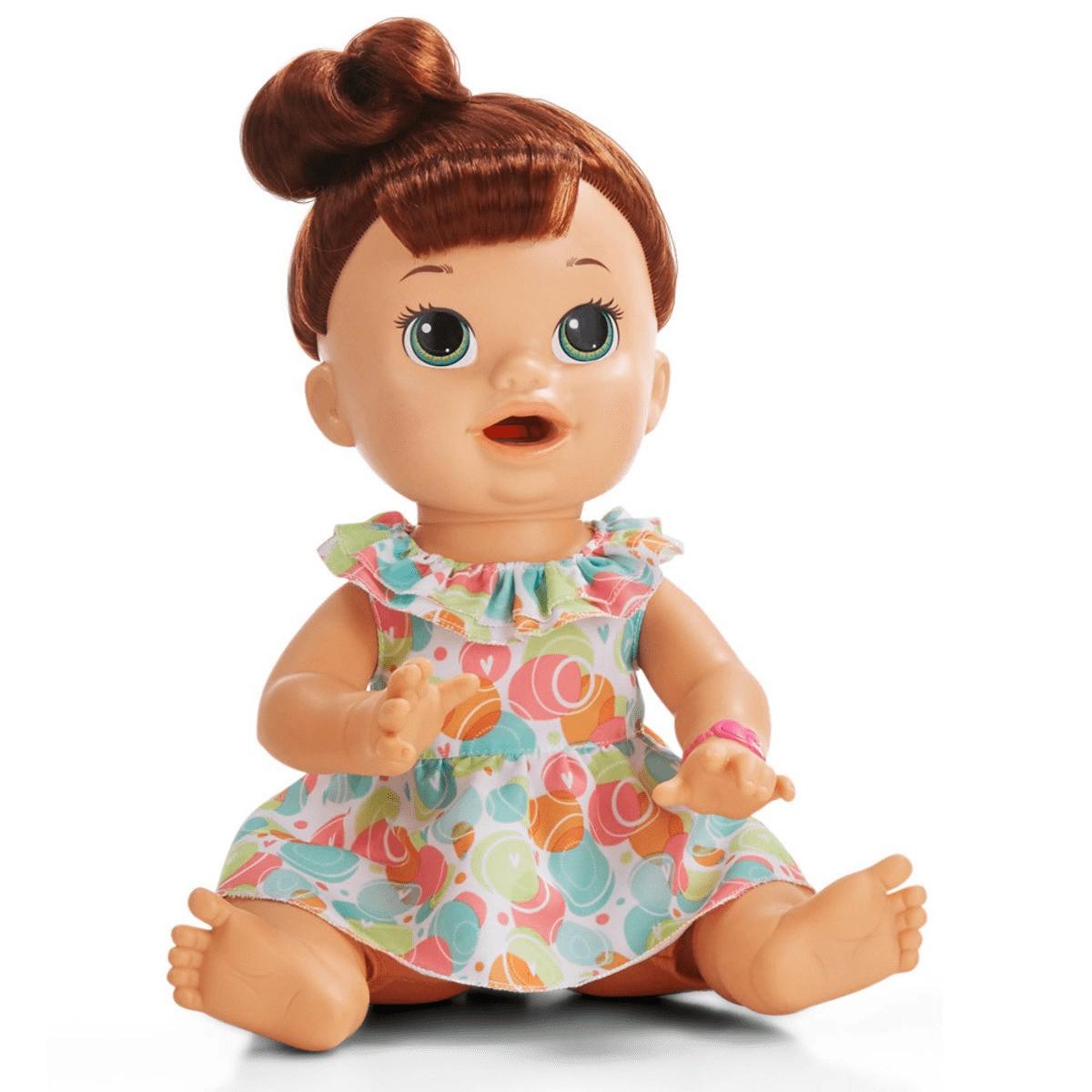 Boneca Baby Alive Comilona Morena - E3402