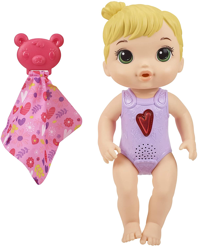 Boneca Baby Alive Coraçãozinho Loira -E6946