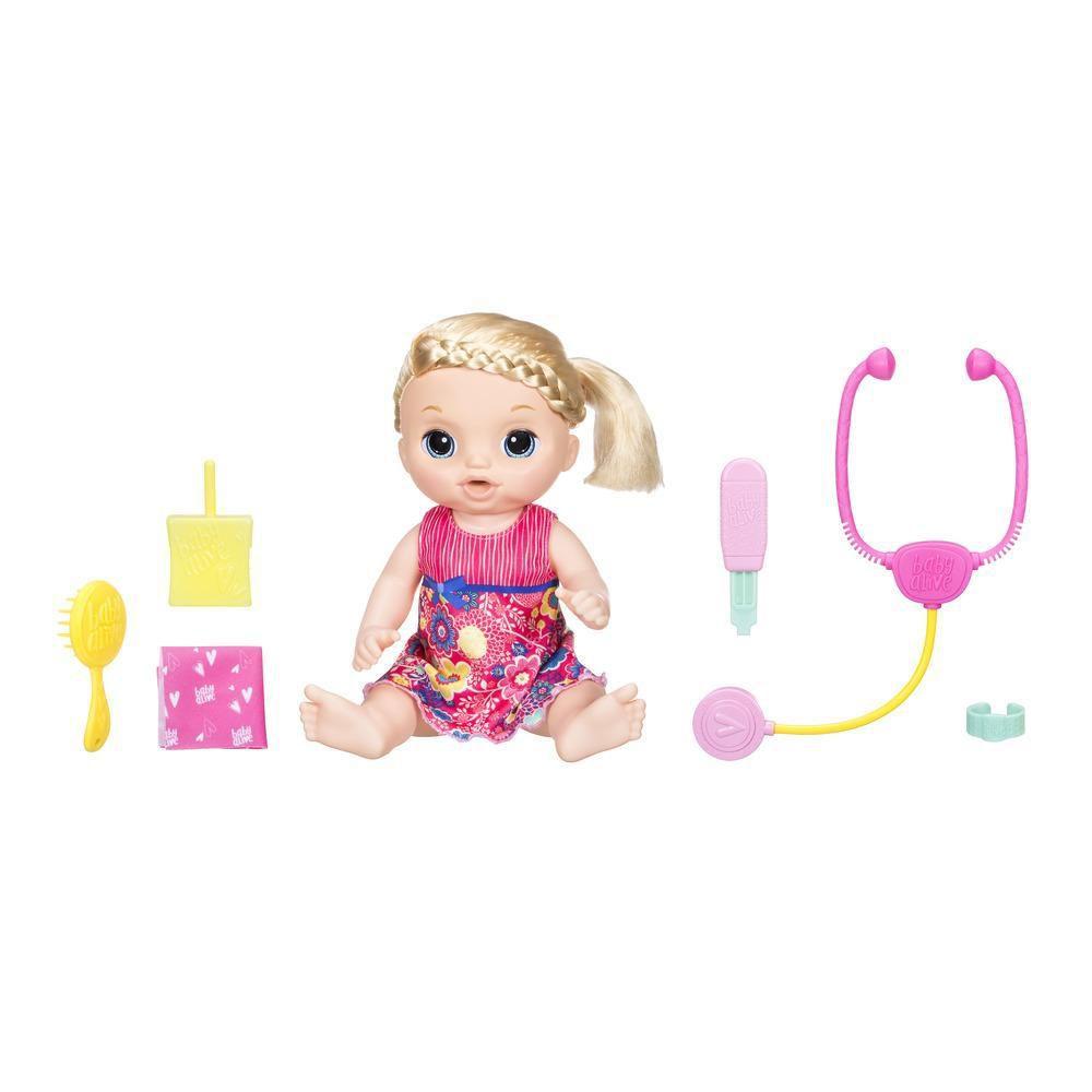 Boneca Baby Alive Doces Lágrimas Loira- Hasbro- C0957