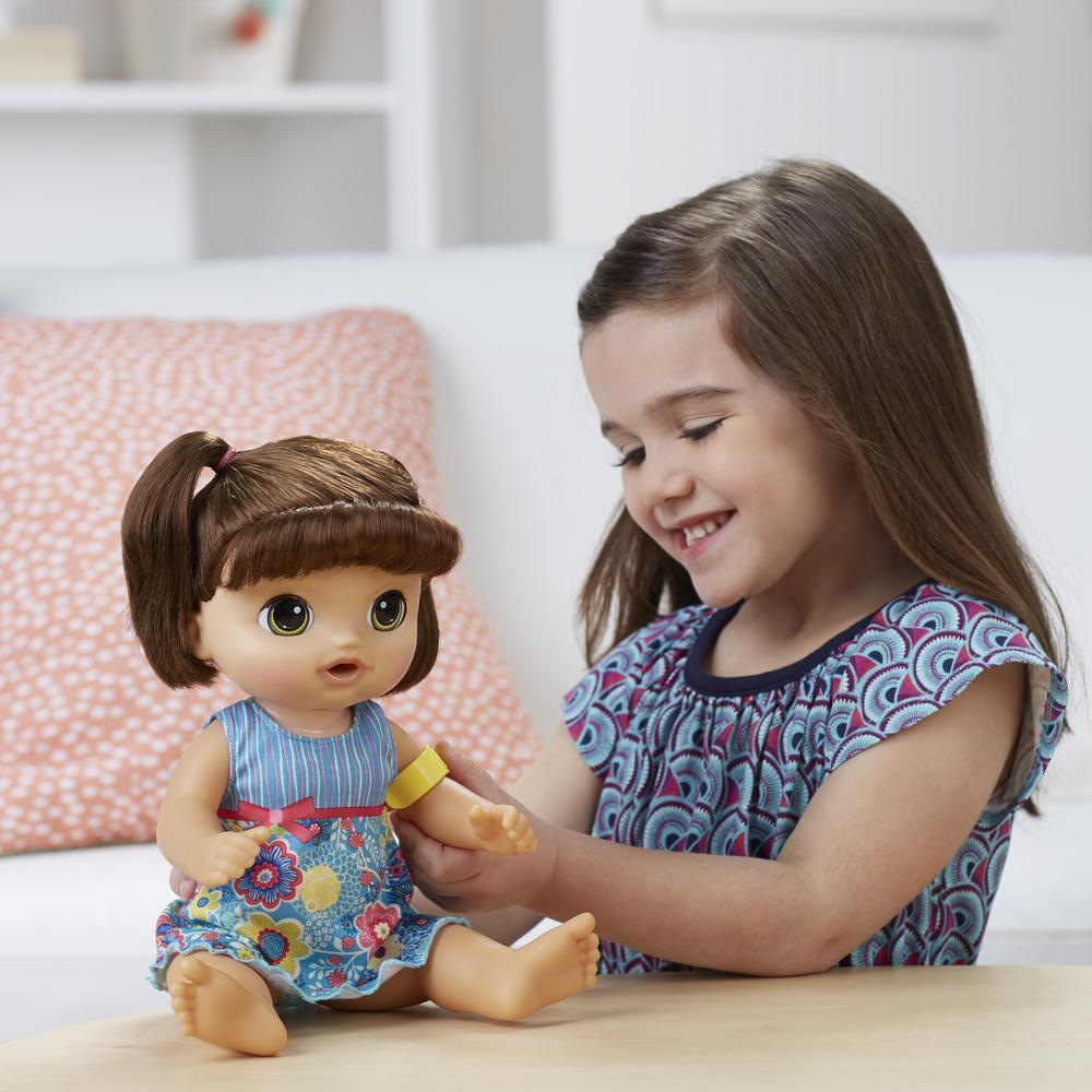 Boneca Baby Alive Doces Lágrimas Morena Hasbro C0958