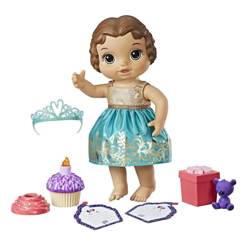 Boneca Baby Alive Festa Surpresa Morena- Hasbro- E0597