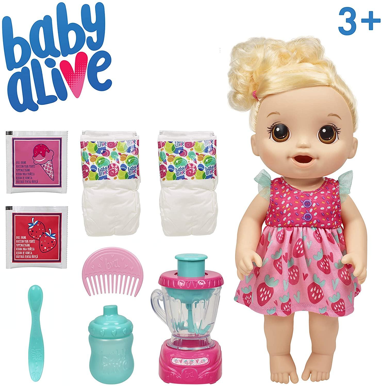 Boneca Baby Alive Misturinha Vitamina de Diversão - Hasbro