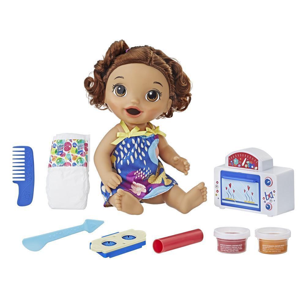 Boneca Baby Alive Morena Meu Forninho - Hasbro - E2098