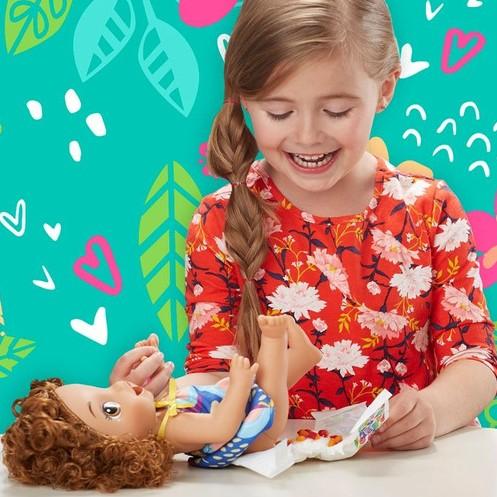 Boneca Baby Alive Morena Meu Forninho Hasbro E2098