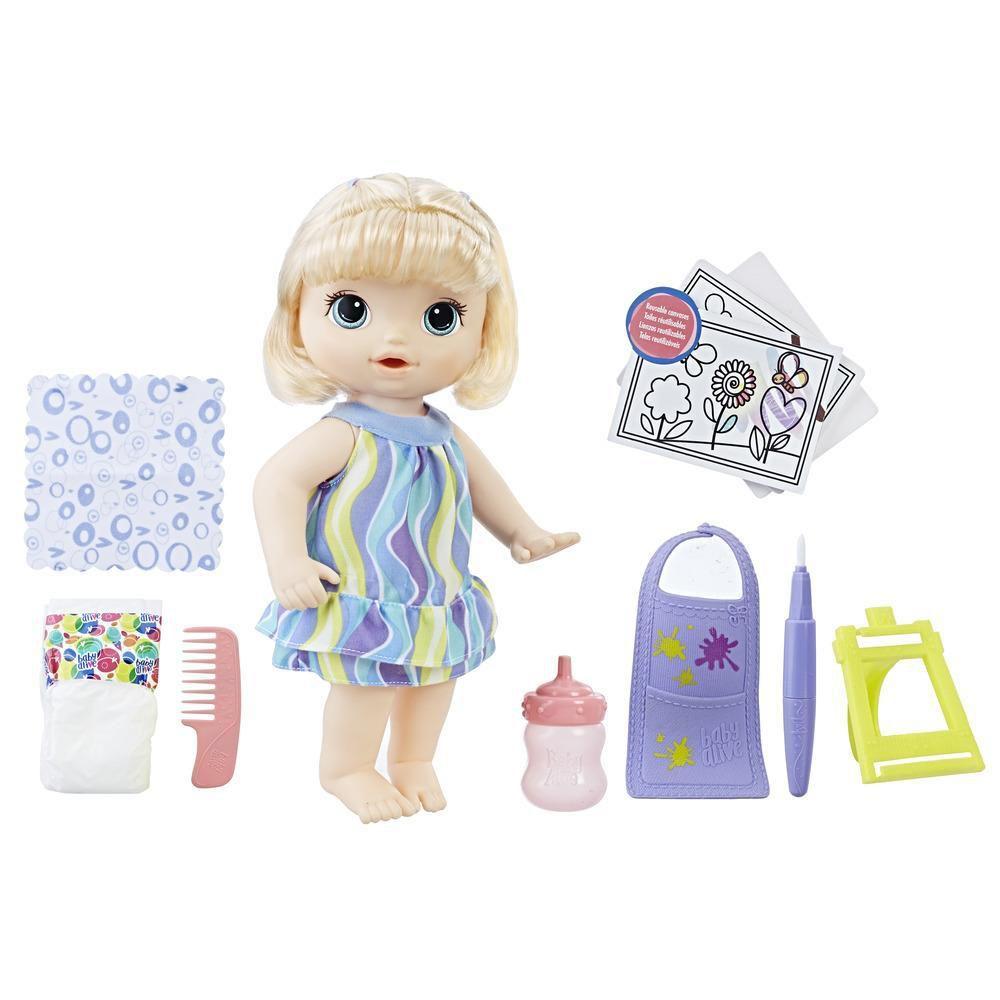 Boneca Baby Alive  Pequena Artista - Hasbro - C0960