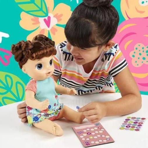 Boneca Baby Alive Primeiro Peniquinho Morena Hasbro E0610