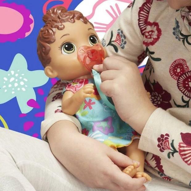 Boneca Baby Alive Primeiros Sons Morena Hasbro E3688