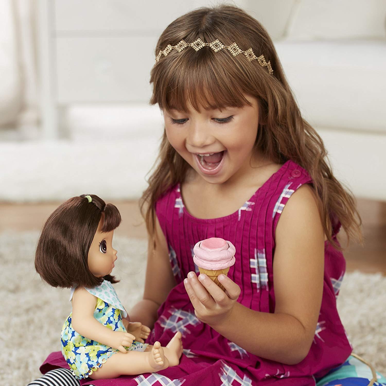 Boneca Baby Alive Sobremesa Mágica Morena- Hasbro- C1089