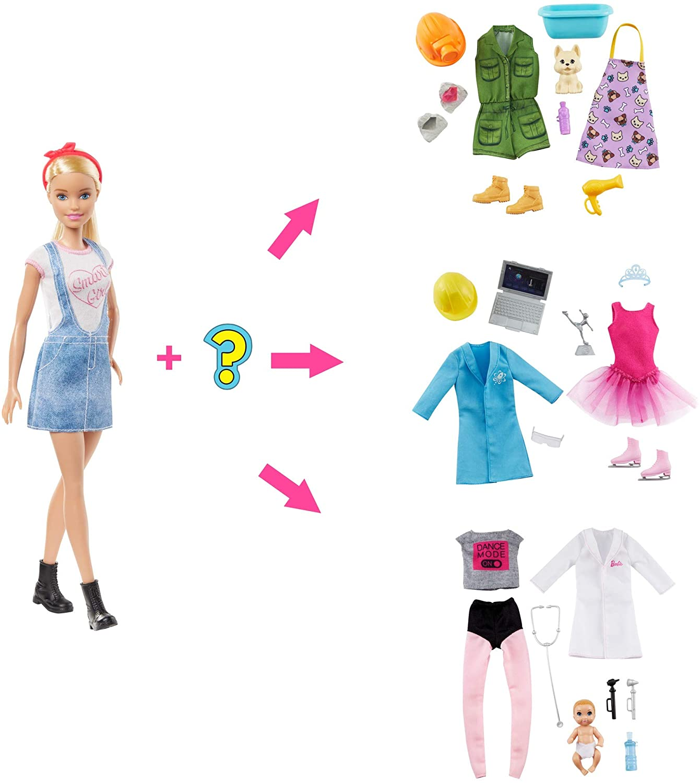 Boneca Barbie Carreiras Surpresa