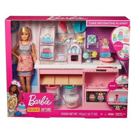 Boneca Barbie Chefe de Bolinhos Mattel
