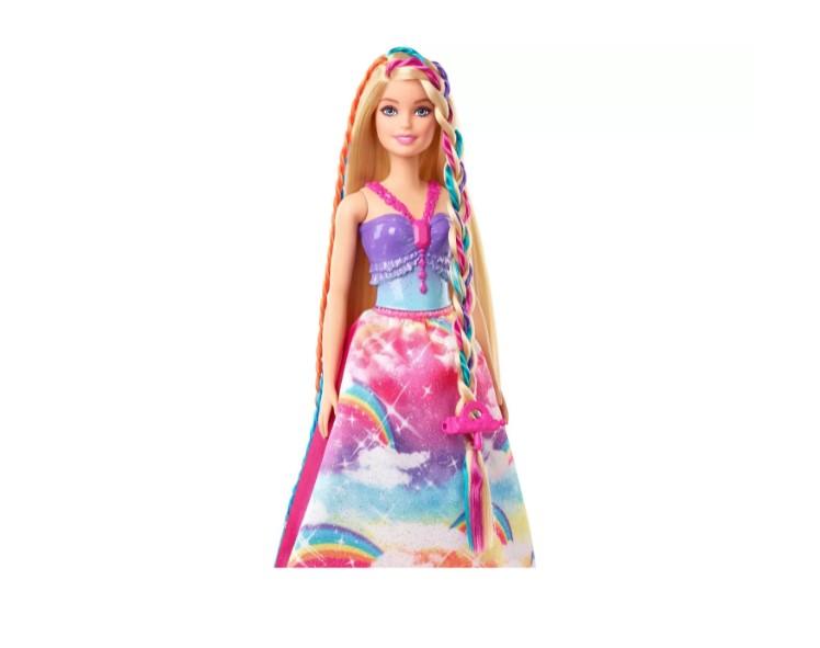 Boneca Barbie Dreamtopia Princesa Tranças Mágicas com Acessórios Mattel GTG00