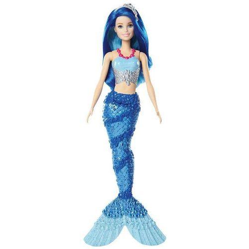 Boneca Barbie Dreamtopia Sereia Azul Mattel FXT08