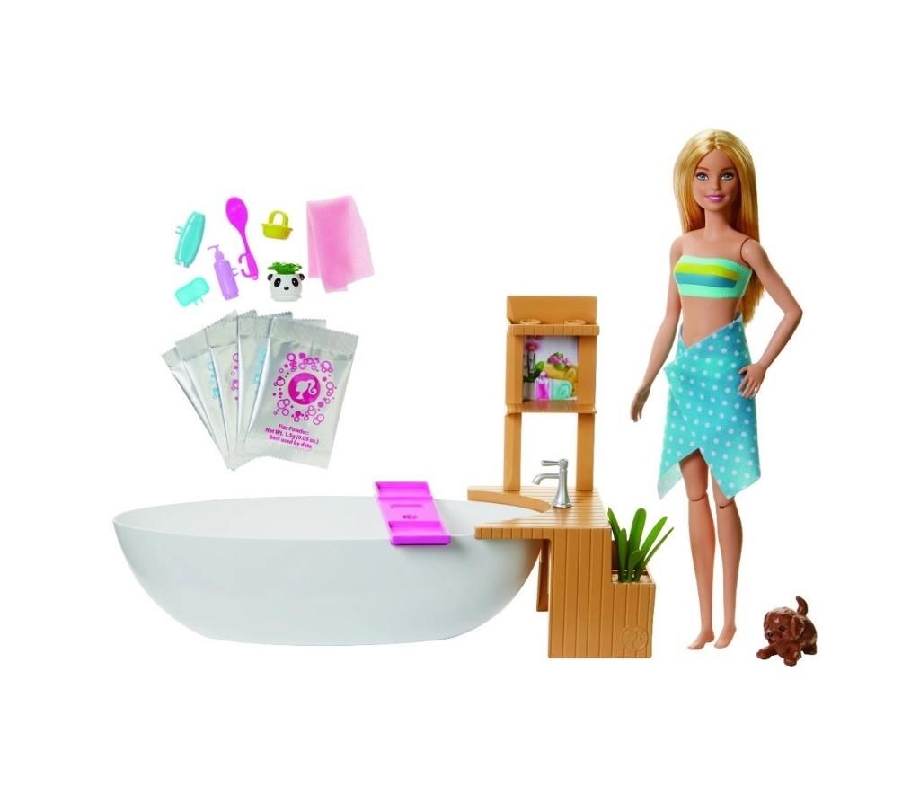 Boneca Barbie Fashionista Banho de Espumas Mattel