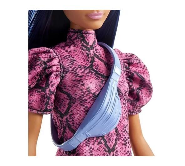 Boneca Barbie Fashionistas 143 cabelo azul escuro Mattel