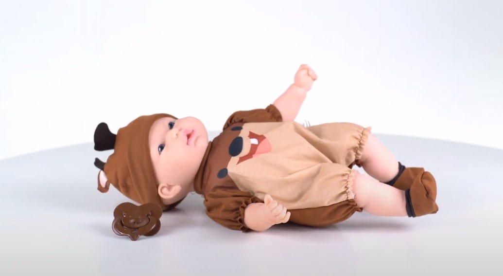 Boneca Bebê Reborn Taz Mania Looney Tunes Lançamento Super Toys