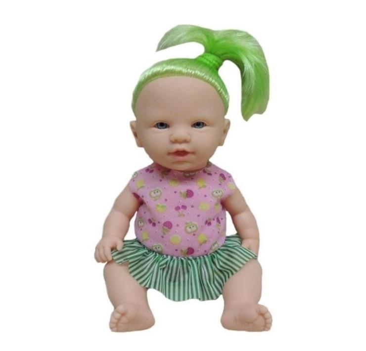 Boneca Cheirinho de Fruta Maçã Verde Pupee