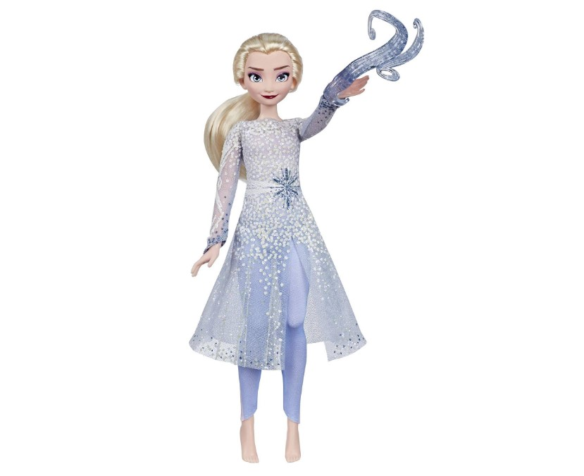 Boneca Elsa Descoberta Mágica Frozen 2 Hasbro E8569